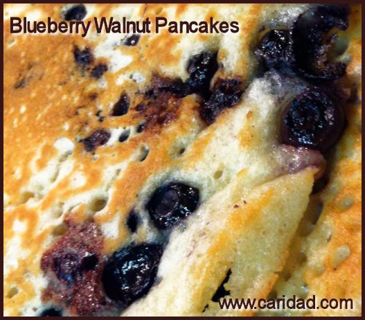 BlueberryWalnutPancakes