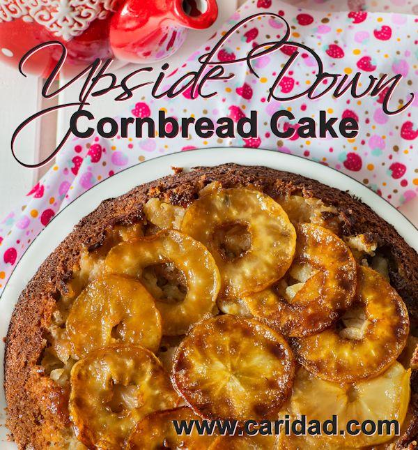 Upside Down Cornbread Cake